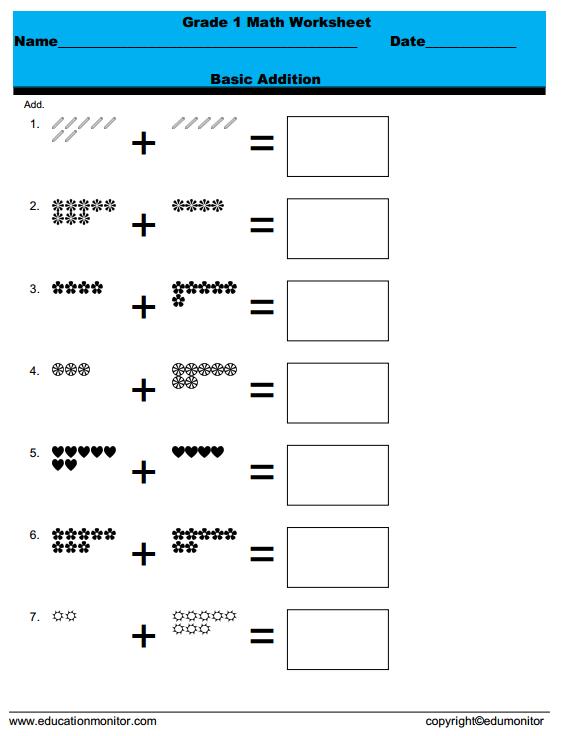 Number Names Worksheets » Free Rocket Math Worksheets - Free ...