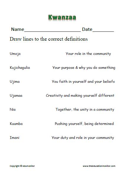 Kwanzaa Word Search - Free Kwanzaa Worksheet for Kids | Kwanzaa ...