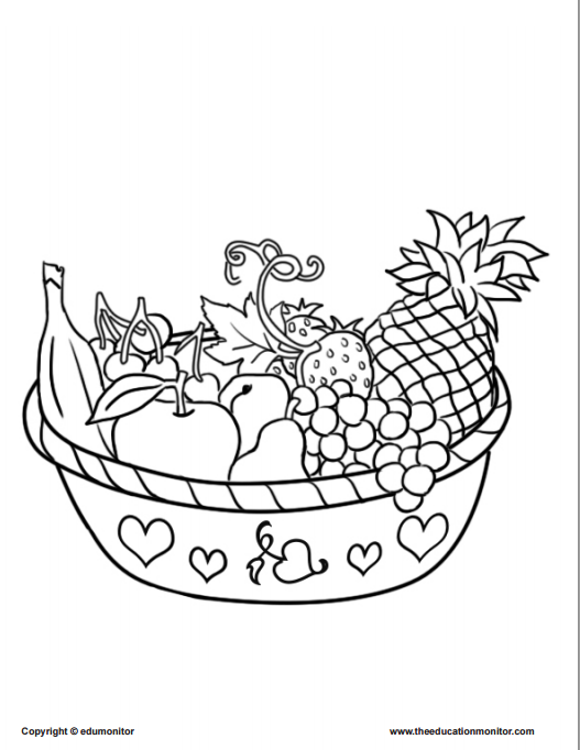 Free Coloring Pages For Kids Learning Nutrition on first grade reading worksheets