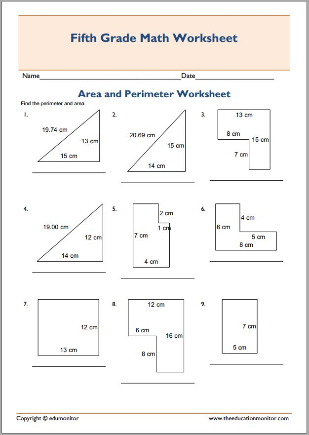 Geometric shapes worksheets Archives - EduMonitor