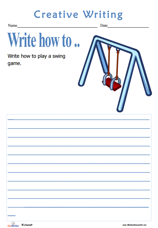 Elementary students writing
