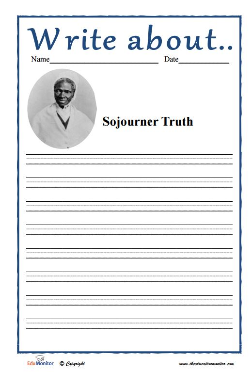 Sojourner Truth Accomplishments