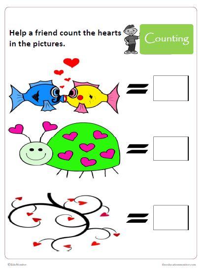 Preschool Math Number Activities Printables