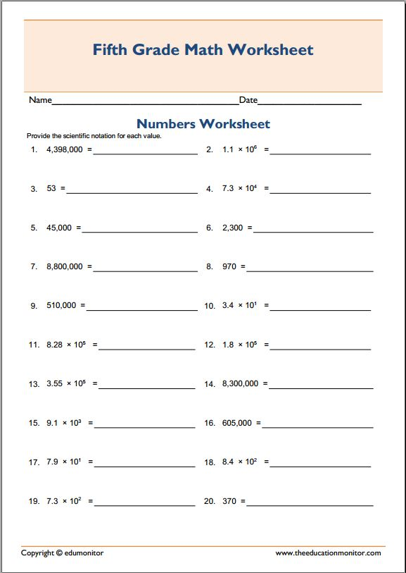 Pre School Worksheets ordering numbers in scientific notation – Multiplying and Dividing Scientific Notation Worksheets