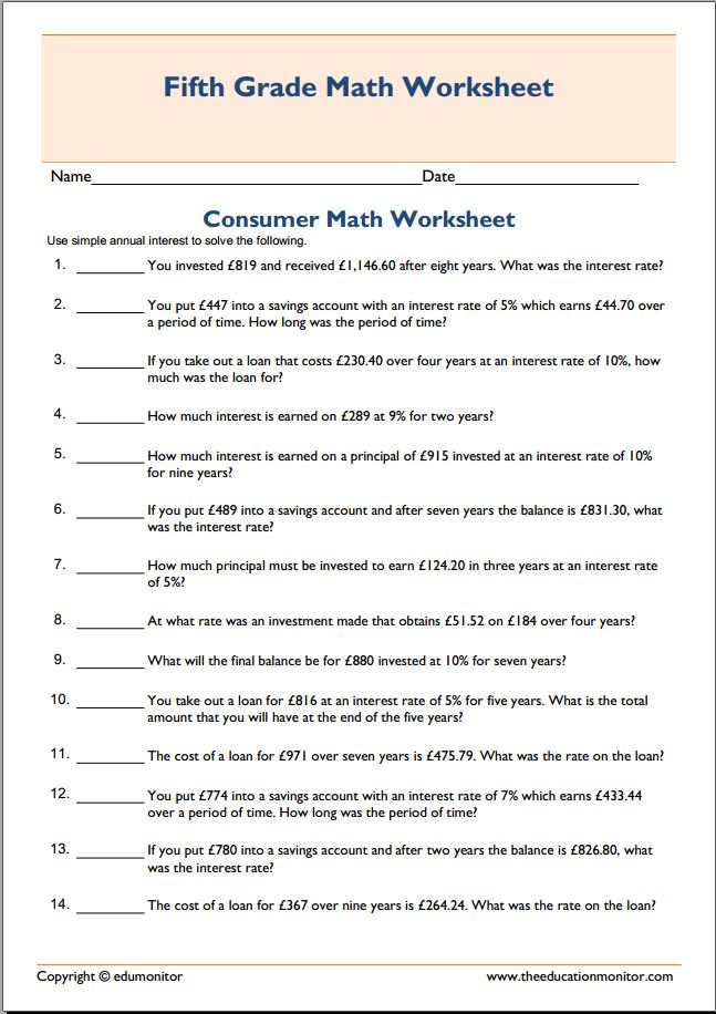 Worksheet Consumer Math Worksheets consumer math worksheets free homeschooling worksheet printable