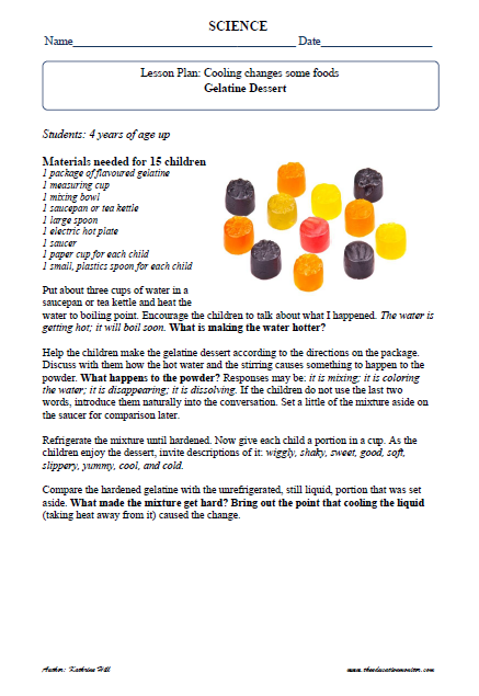 Cooking & Food Science Fair Project Ideas