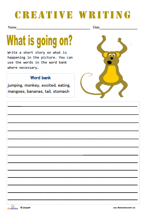 Short Story Topics Worksheets - EduMonitor